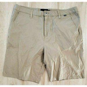 Hurley Mens Chino Tan Shorts Size 38